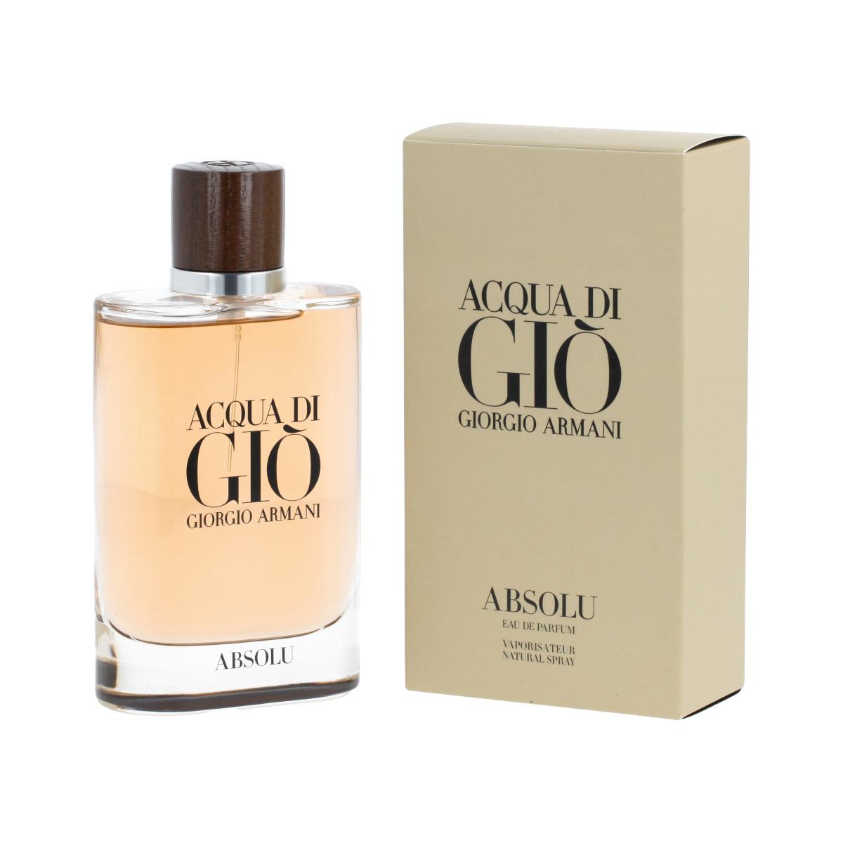 Armani Giorgio Acqua Di Gio Absolu Eau De Parfum Uomo 125 Ml